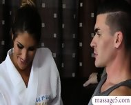 Busty Masseuse August Ames Gives Nuru Massage And Pounded - scene 2
