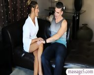 Busty Masseuse August Ames Gives Nuru Massage And Pounded - scene 3