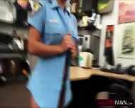 Sexy Police Woman Wants To Pawn Her Weapon And Ends Up Fucked By Shawn - scene 5