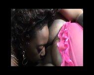 Two Sexy Ebony Lesbians - scene 10