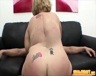 Midget Babe Humping Big Cock - scene 7