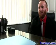 Gay Mature Redbears Job Interview Cums To Climax - scene 2