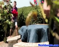 Muscular Studs Outdoor Suck And Fuck Fun - scene 1