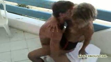 Hot Sex on Balcony - scene 2