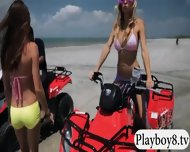 Badass Girls Enjoyed Kiteboarding And Quad Races Naked - scene 10