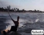 Badass Girls Enjoyed Kiteboarding And Quad Races Naked - scene 3