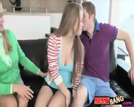 Beautiful Teen Girl Madison Chandler Hot Threesome With Milf - scene 2