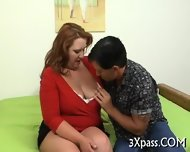 Guy Fucks His Hot Fat Gf - scene 1