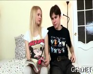 Babe Having Lusty Threesome Sex - scene 2