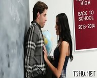 Schoolgirl Receives Dick - scene 4