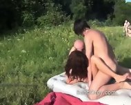 Wild Outdoor Fucking In Public - scene 5