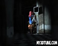 Blue 3d Babe Getting Fucked Hard By The Juggernaut - scene 7