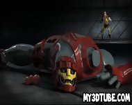 Busty 3d Cartoon Babe Getting Fucked By Wolverine - scene 1