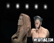 Busty 3d Cartoon Babe Getting Fucked By Wolverine - scene 8