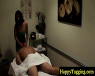 Real Asian Masseuse Makes Dude Horny - scene 2