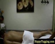 Real Asian Masseuse Makes Dude Horny - scene 7