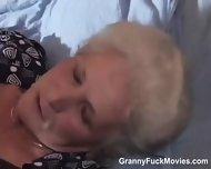 70yo Horny Granny Sucks Young Cock - scene 8