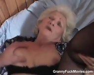 70yo Horny Granny Sucks Young Cock - scene 9