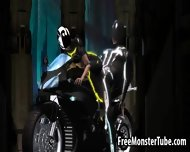 3d Tron Babe Sucking Cock And Getting Fucked Hard - scene 6
