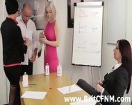 Femdom British Ladies Strip And Oil Cfnm Amateur - scene 9
