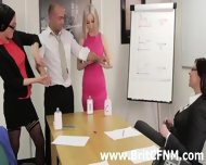 Femdom British Ladies Strip And Oil Cfnm Amateur - scene 6