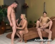 European Swingers Hot Tub Group Sex - scene 10