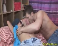 Real Cuckolding Gf Taking On Two Cocks - scene 2