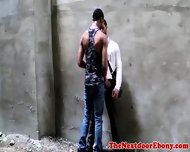 Gayblack Hunk Getting His Ass Pounded - scene 2