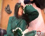 Cute Japanese Cosplayer Gets Banged And Cumswallows A Sticky Load - scene 9
