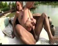 Rough Ass Smashing Makes 2 Young Hotties Moan Like Whores - scene 1