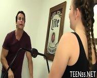 Teen Explores Carnal Pleasures - scene 2