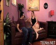 Teen Explores Carnal Pleasures - scene 3