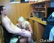 Cock-riding On The Soft Couch - scene 1