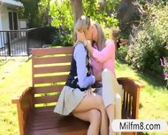 Nasty Stepmom Hot 3way With Teen Couple In The Bedroom - scene 2