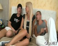 Interracial Threesome With Virgin - scene 4