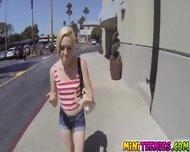 Mileys Pierced Pussy Got Pounded On The Spot - scene 1