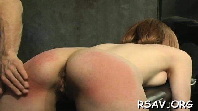 Cute girl endures BDSM