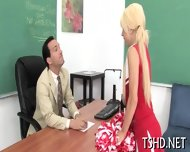 Girl Gets Rudely Fucked - scene 1