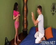 Slutty Teen Explores Mature Cock - scene 5