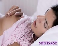 Very Cute Young Brunette Girl - scene 8