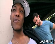 Black Gay Fucks White Pal - scene 6