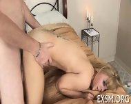 Choking During Rough Fucking - scene 9