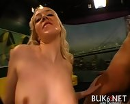 Lusty Sucking Of Giant Knockers - scene 5