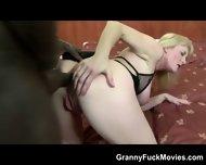 Huge Black Dong For Granny Ass - scene 9