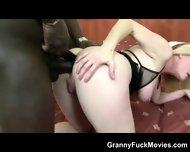Huge Black Dong For Granny Ass - scene 11