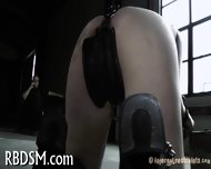 Babe In Latex Suit Gets Punished - scene 3
