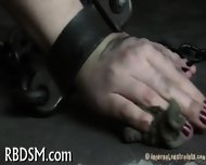 Babe In Latex Suit Gets Punished - scene 4