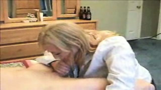 Sucking Husband until he comes