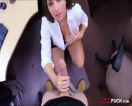 Sexy Babe Pawns Her Pussy And Screwed Up In The Backroom - scene 5