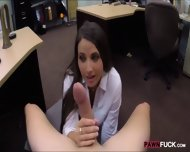 Sexy Babe Pawns Her Pussy And Screwed Up In The Backroom - scene 7